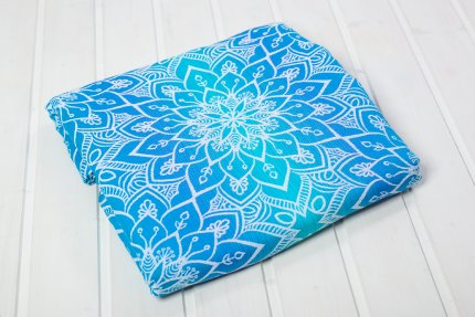 Ring Sling Be Lenka Mandala - blau