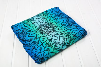Ring Sling Be Lenka Mandala - Polarlicht