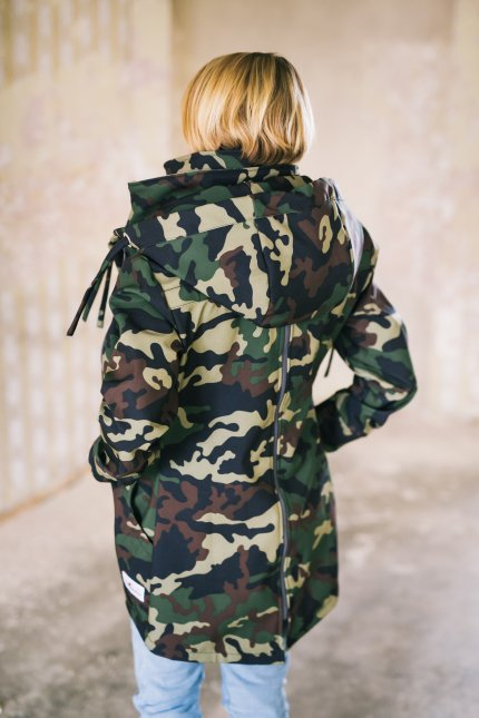 Army Forest Softshell Tragejacke