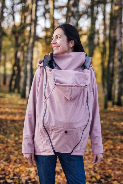 Be Lenka - Rose Pink - Softshell Tragejacke