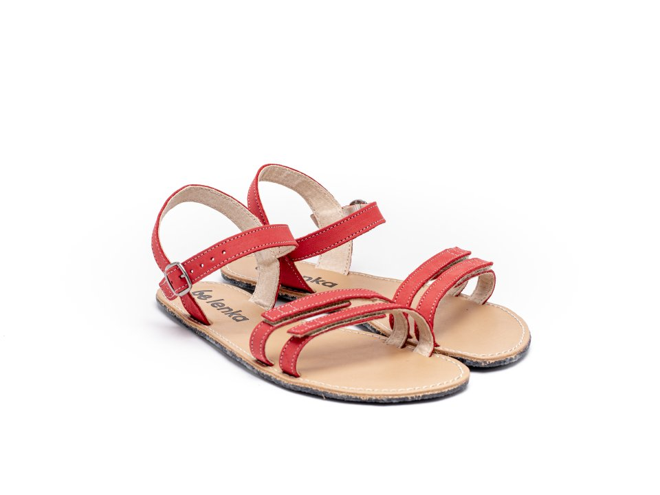 Barefoot Sandalen Be Lenka Summer - Red